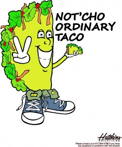 Not'cho Ordinary Taco Truck logo