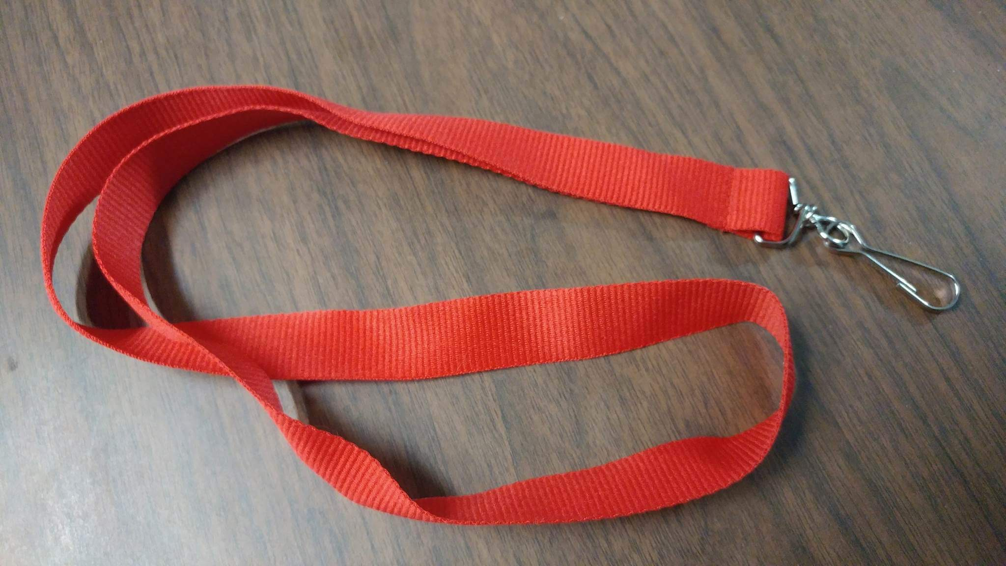 Red Lanyard Policy