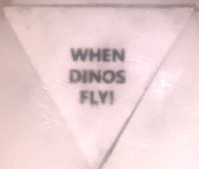 WHEN DINOS FLY!