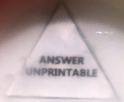 ANSWER UNPRINTABLE